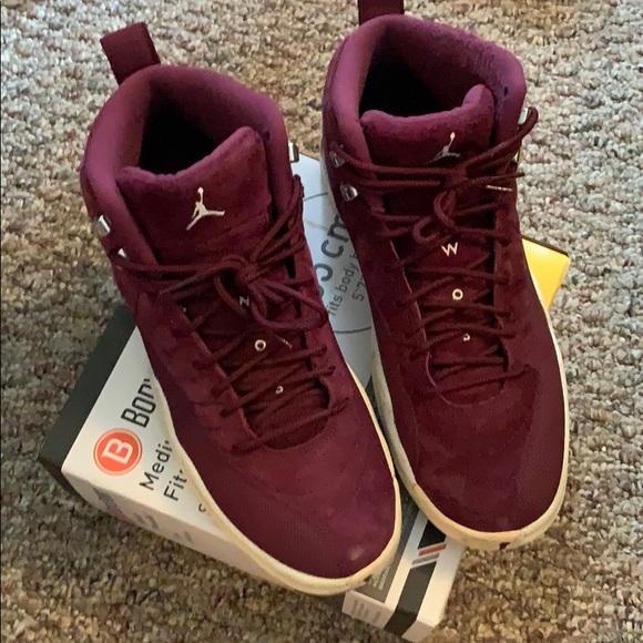 differently 15548 44aee Jordan 12 - Burgundy 8/10 condition -Size 10